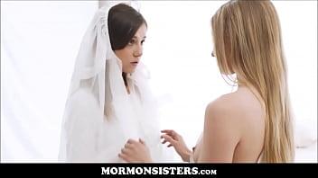Cute Mormon Teen Lesbian Orgasms On Table