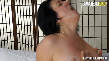 CASTING ALLA ITALIANA - #Paola Diamanti - Sexy BBW Lady Loves It Deep And Hard