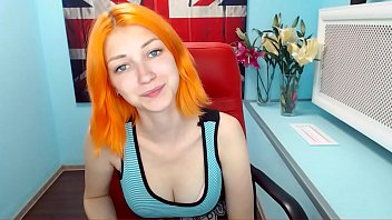 dutch camgirl strips and plays - part 1