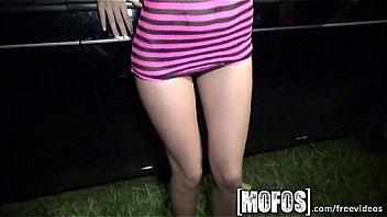 Mofos - Threesome with Alina LI is caught on camera