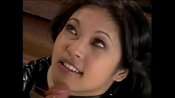 Experienced exotical whore Mika Tan with big knockers and slnat eyes enjoys when her dominant friend plays with her some fetish games