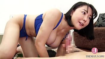 Big ass panty lascivious woman - M man  with big ass of 90cm hip wearing extreme underwear - Arisa Hanyu Part1 [AGAV021]