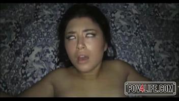 White girl rides dick to explosive orgasm