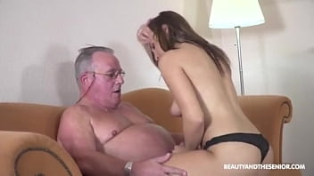 young get fucked by old horny grandpa