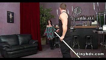 Petite tiny girl drilled Jessi Palmer 91