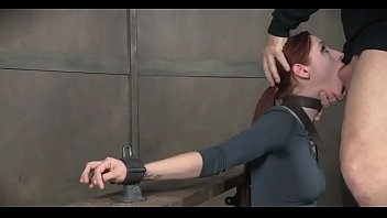 bdsm rough sex - Young slut shows her deepthroat skill - WWW.GIFALT.COM - bondage fetish