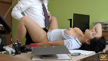 LOAN4K. Czech hot Alex Black having sex in the office