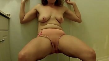 Testing New Pussy Sex Toy & Pissing in the Toilet