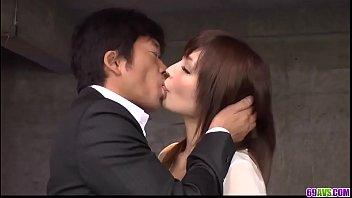 Hot japan girl Riona Suzune in beautiful sex scene