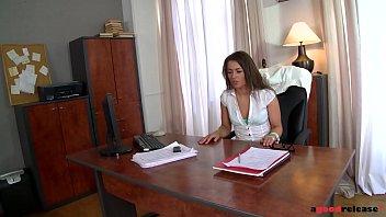 Ever-Horny Hottie Savannah Secret Rides Big Dick At Office During Job Interview