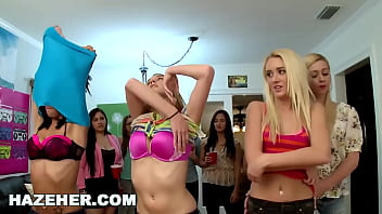 HAZEHER - Collection Of College Lesbians Including Chase Ryder, Veronica Radke, Adriana Malao And More