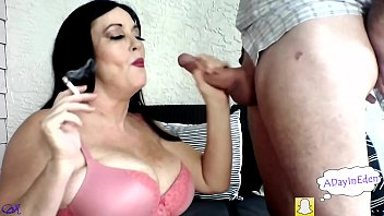 MILF Sherry Stunns Smokes And Sucks Cock : A Preview