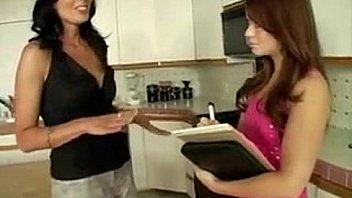 Cougar Milf teaches Teen lesbian