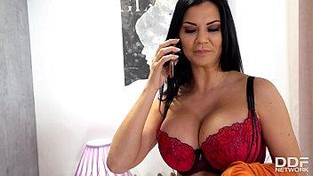 Top-heavy sex goddess Jasmine Jae gets her wet pink filled with loads of cum