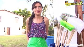 CARNE DEL MERCADO - Veronica Marin - Sexy Latina Teen Blows And Fucks Hardcore On A Hotel Room With Pedro
