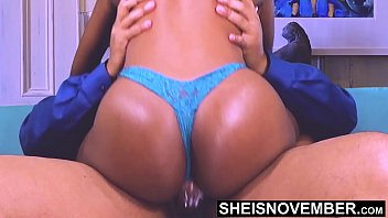 HD He Creampie My Pussy Without Permission, I Ride His BBC Without Knowing Cum Is in My Cunt. Shy Black Geek Msnovember Vaginal Cumshot, Enormous Juicy Ass Jiggling, on Sheisnovember Creampiecowgirl
