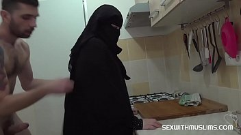 Hot sex with busty muslim wife
