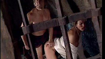 Watch Woman abused in cell by jailer in front of her tied up husband preview