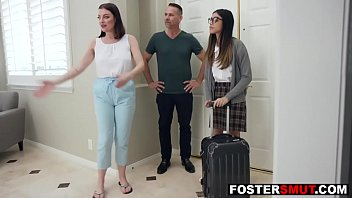 Foster daughter fucked by mother and father