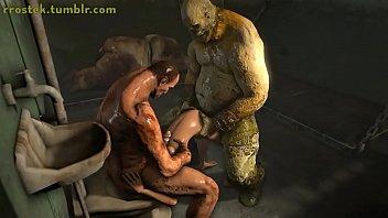 Lara Croft baise jouet en...