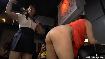 Watch Naked petite brunette Asian slut Mitsuki Sweet is disgraced in lingerie shop then flashes shaped ass and gets flogged till fucked with big dick in public preview