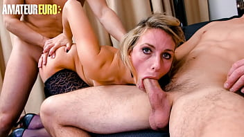 AMATEUR EURO - #Emma Klein - Sexy Ass MILF Babe Double Ass Fucked By Her Lovers