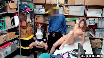 Shoplyfter Christy Love got caught and her mom was called in the LP Office she coordinate with the LP Officer
