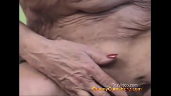 Horny Granny Loves to Bring Out the Cum Part 2