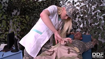 Lola Taylor Has Hardcore Anal Sex With Soldier Leading To Incredible Gapes
