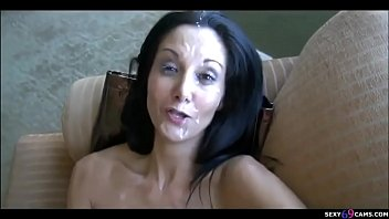 Sexy Milf Facials