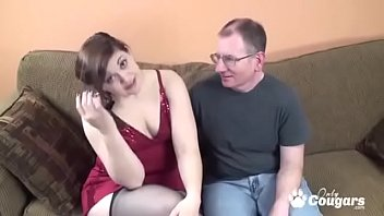 Naomi St Claire Sits Her huge Ass Down On A Small Pecker