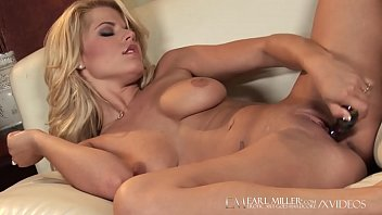 Blonde Hottie, Charlie Lynn Dildoes her shaved pussy until she cums! Full video at EarlMiller.com, where Erotic Art Goes Hardcore!