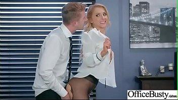 (Alix Lynx) Busty Slut Girl Get Banged Hardcore In Office clip-02