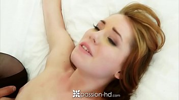 PASSION-HD Sexy pale Raylin Ann tied up and fucked