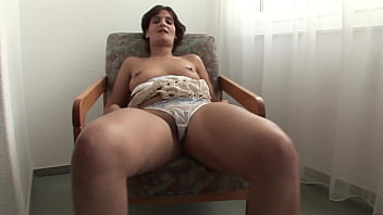 Housewife lets her husband film her masturbating