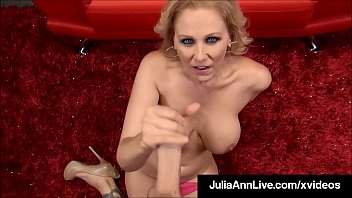 Milf Goddess Julia Ann does a POV special where your Cock is the star! Get your Dick sucked by The Hottest Milf on the Planet! She will Milk You Dry! Full Video & Julia Ann Live @ JuliaAnnLive.com Thumbnail