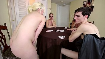 Stripping Game With the Family featuring Leilani Lei, Fifi Foxx, Whitney Morgan and Aiden Valentine