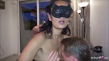 Deutsches Paar treibt es mit Ehefrau und ihrem Typen im Urlaub nach Partynacht - German Swinger
