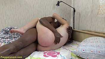 cute teen gets rough first time interracial big black cock fucked at her ninth month of pregnancy