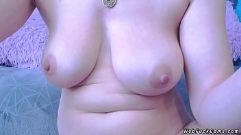 Natural Busty Blonde Amateur Babe Naked Posing On Webcam Then Self Anal Fisting And Fucking Dildo In Live Private Show On The Blue Couch thumbnail