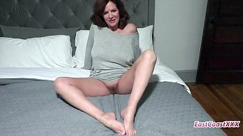 Hot redhead MILF gets ass fucked and facialed