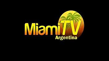 Famosas en el camarin, desnudas. Miami TV