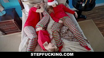 Christmas daddy daughter sex family get together-STEPFUCKING.COM