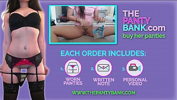 Pretty Ginger Teen Gives Herself A Huge Orgasm And Whimpers - The Panty Bank
