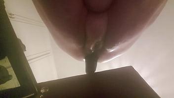 Bbw extreme eggplant anal insertion