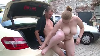 Fat Germnan taxi driver gets fucked by boss