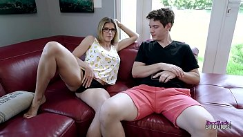 Hot Step Mom Makes her Step Son feel better - Cory Chase
