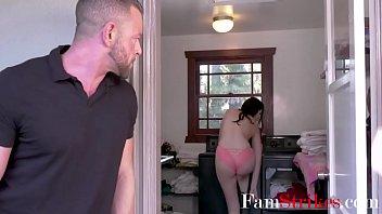 Horny Dad's Old Cock Fucks Daughter
