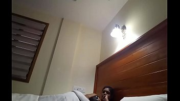 Desi College couple in a room 2