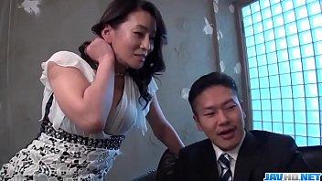 Hot japan girl Rei Kitajima in beautiful porn video on work